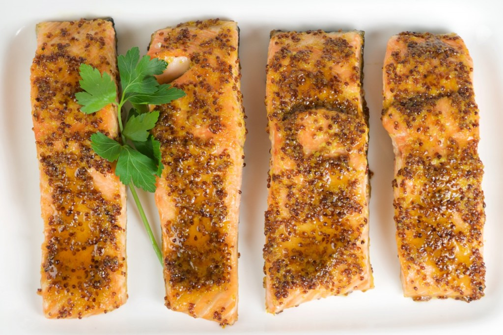 ... mustard glaze maple mustard glazed grilled salmon maple mustard glazed