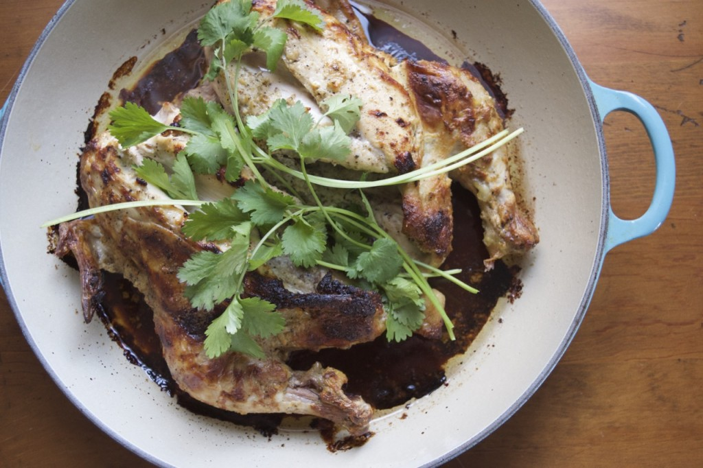 Roasted Butterflied Chicken with Cardamom and Yogurt | Kitchen on ...