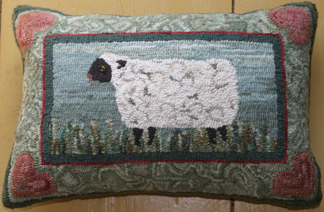 Sheep-pillow