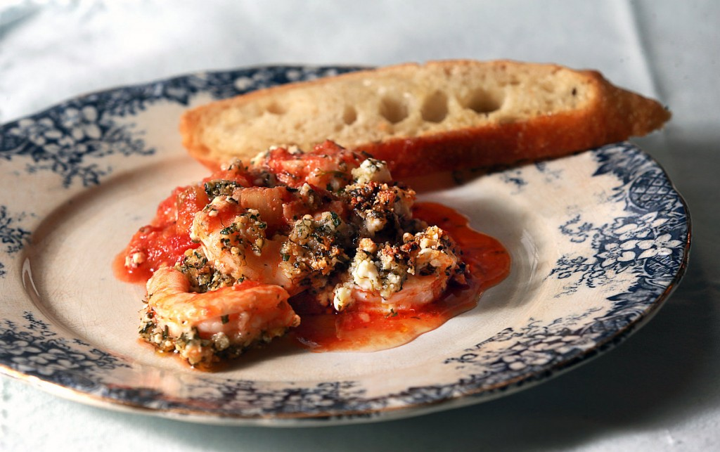 baked-shrimp-with-fennel-and-feta-place-with-toast